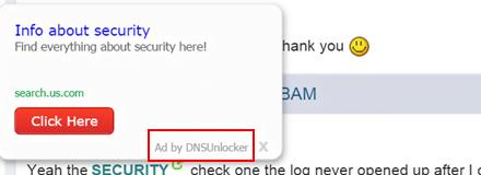 annonser från DNSUnlocker