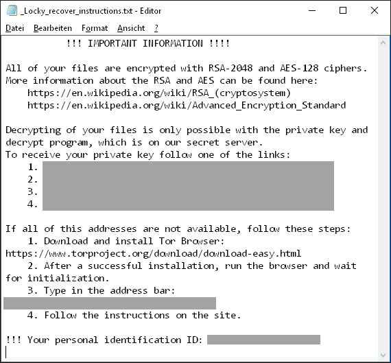 Innehåll i filen _Locky_recover_instructions.txt