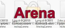 Arena virus: hur man återställer .arena förlängningsfiler