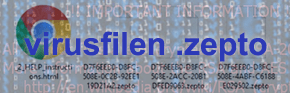 Ta bort Zepto viruset: avkryptera ransomware .zepto